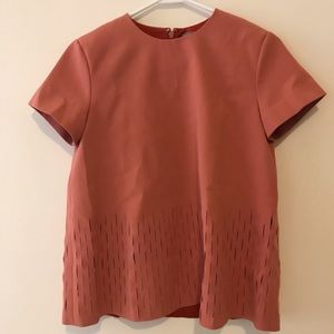 COS Short Sleeve Top Size 2